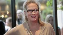 """Actress Meryl Streep poses at the Women In Film Los Angeles 2012 Crystal and Lucy Awards themed """"Power In Numbers"""" in Beverly Hills, California June 12, 2012 (Mario Anzuoni/REUTERS)"""