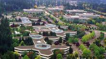 The Microsoft campus in Redmond, Wash. (Microsoft)