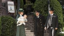If Murdoch Mysteries was being launched today, under the new Canadian-content system, it would certainly look and feel very different, John Doyle writes. (Christos Kalohoridis/CBC)