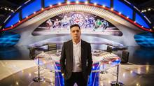 In hopes of refreshing the broadcast, Rogers hired George Stroumboulopoulos and changed the look of the studio segments. (Mark Blinch For The Globe and Mail)