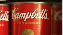 Campbell's Soup products stand on a store shelf. (David McNew/Getty Images/David McNew/Getty Images)