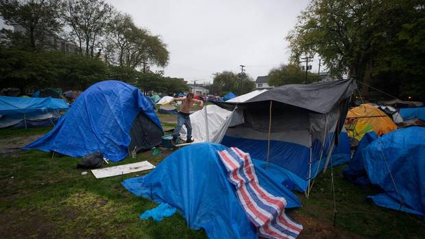 Judge orders Vancouver tent city dismantled