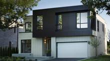 The 20 homes of Crafthouse, in Toronto's Bayview Village are modern in style, and more carefully designed than the average subdivision house. (Joy von Tiedemann)