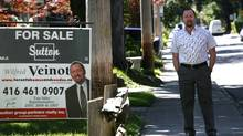 Real Estate agent Wilfred Veinot with Sutton Partners Realty Inc. in the Riverdale neighbourhood just north of the Danforth in Toronto. Photo by Deborah Baic The Globe and Mail (Deborah Baic/The Globe and Mail)
