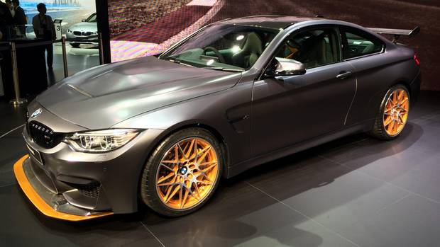 BMW M4 GTS revealed at the 2015 Tokyo Motor Show. (Neil Vorano for The Globe and Mail)