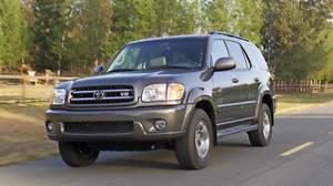 2003 Toyota Sequoia Credit: Toyota