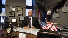 MP Rob Merrifield has built up an impressive Rolodex of contacts during his career. (Cole Burston For The Globe and Mail)
