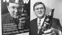 Loblaws pitchman David Nichol, shown Nov. 27, 1992. (KEVIN WHITFIELD/THE GLOBE AND MAIL)