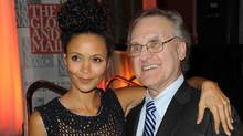 Thandie Newton and Stephen Lewis at Hope Rising, a benefit concert for the Stephen Lewis Foundation. (Tom Sandler for The Globe and Mail)