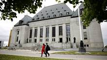 The Supreme Court of Canada in Ottawa on June 8, 2016. (Blair Gable For The Globe and Mail)