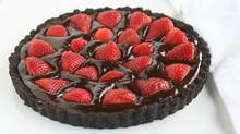This decadent chocolate ganache tart can be thrown together with minimal effort and maximum flavour. (Stephanie Eddy for The Globe and Mail)