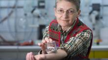 British Columbia biologist Regine Gries has endured 180,000 bites with the intention of sucking the life out of the worldwide bedbug epidemic. Gries, who is immune to the bites, to act as a host so the pests could feed while scientists gathered skin and feces from the bugs to analyze. (Greg Ehlers/SFU)