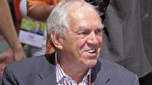Former NDP leader Ed Broadbent said he believes Ottawa wants Rights and Democracy to cut ties with any foreign group that criticizes Israel. (tim krochak/Tim Krocahk/The Canadian Press)
