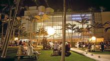 The New World Symphony's concert hall and park in Miami Beach, Fla. (Richard Patterson/Richard Patterson)