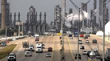 Shell's Deer Park refinery and petrochemical facility in Texas. (David J. Phillip/The Associated Press)