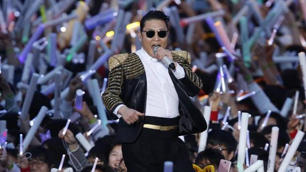 The world has come a long way since the Twist. South Korean rapper Psy has the Internet dancing again, this time with Gentlemen, the follow-up to his monster hit, Gangnam Style. Psy performed Gentleman in public for the first time on Saturday at a concert at Seoul's World Cup stadium on April 13, 2013. (Kin Cheung/AP)