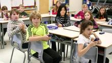 Education Minister Laurel Broten has urged trustees to review the terms of the English Catholic teachers' agreement more closely, but so far, public, Francophone and Catholic boards have all refused. (Dave Chan for The Globe and Mail)
