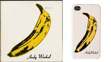 """The [banana symbol above] has become so identified with The Velvet Underground ... that members of the public, particularly those who listen to rock music, immediately recognize the banana design as the symbol of The Velvet Underground,"" lawsuit says. Also claims the band repeatedly asked the Warhol Foundation to cease licensing the banana design to third parties ""in a manner likely to cause confusion or mistake as to the association of Velvet Underground with the goods sold in commerce by such third parties."" (Image reproduced with permission of Universal Music Group)"