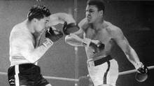 Muhammad Ali may have won the match on March 29, 1966, but George Chuvalo was still standing at the end of it. (Boris Spremo/The Globe and Mail)