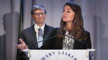 JPMorgan Chase & Co. and the Bill & Melinda Gates Foundation are teaming up to fund development of health-improvement technologies. (LUCAS JACKSON/REUTERS)