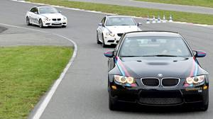 Prospective customers from across Canada were invited to Mont Tremblant raceway to sample the BMW M3 on the track and compare it to the competition.