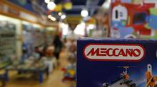 Meccano toys on sale in Toronto Aug. 13, 2013. Toronto-based Spin Master Ltd. has acquired the iconic construction set line. (Fernando Morales/The Globe and Mail)