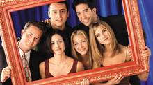 Netflix's announcement that all 10 seasons of Friends would be coming to the streaming service elicited a great deal of excitement on the Internet. (REUTERS)