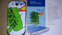 Shane Bennett has Canada's only customized Samsung Galaxy S III
