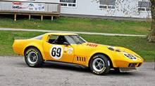 1972 Corvette racing coupe owned by Del Bruce (Vic Henderson)