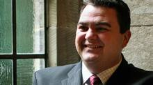 Conservative MP Dean Del Mastro. (Dave Chan for The Globe and Mail.)