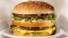 An undated photo provided by Oak Brook, Ill.-based McDonald's Corp., shows a Big Mac. (AP)