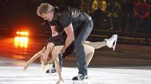 Bob Probert and Kristina Lenko on CBC's Battle of the Blades.