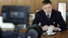 Robert Fico, President of Slovakia, wants to nationalize his country's health system. (RADOVAN STOKLASA/REUTERS)