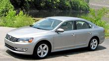 2012 VW Passat (Bob English for The Globe and Mail)