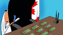 There's more to leadership than writing cheques (Anthony Jenkins/The Globe and Mail)