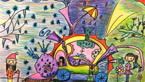 in photos dream cars of the future as drawn by children