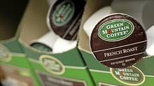 Green Mountain Coffee single-serve K-Cups are pictured in New York, May 3, 2012. The company's management is quickly losing credibility with Wall Street after it badly missed sales estimates for the second time in three quarters, wiping out close to half of its market value. (BRENDAN MCDERMID/REUTERS)