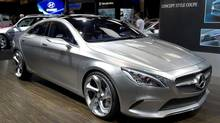 Mercedes concept car at the Canadian International Auto Show (Frank Gunn/THE CANADIAN PRESS)