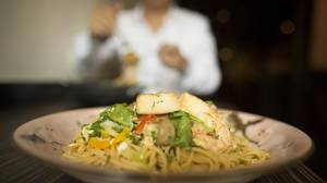Born out of an 1850s belief that the Japanese could mimic stocky Americans by eating like them, yoshoku fare -- like what Spaghetei serves -- .