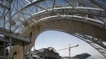 Construction at Denver's Union Station is part of a massive and ongoing transit expansion program. (Don Peitzman/Courtesy of Denver RTD)