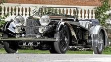 1936 Alvis 4.3 Short Chassis Tourer (Max Earey/Alvis Car Co.)