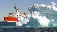 A Foreign Affairs policy paper acknowledges it will probably be a decade before Canada has its own polar icebreaker. (Jonathan Hayward/Jonathan Hayward/The Canadian Press)