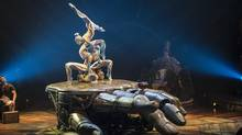 The setting for Cirque du Soleil's Kurios is 19th-century, retro-future mechanical. (Martin Girard/Courtesy Cirque du Soleil)