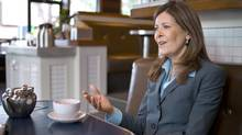 Joan Crockatt considers herself 'fiscally conservative,' concerned about the economy, energy and the environment. (Chris Bolin for The Globe and Mail)