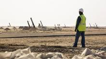 The Tasiast mine is an open pit operation in northwestern Mauritania. (Handout/Kinross)