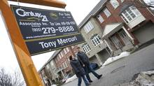 RBC's senior vice-president of home equity financing says that down payments are rising not just in terms of dollar value, but also in terms of the percentage that they make up of the mortgage loan. (Kevin Van Paassen/The Globe and Mail)