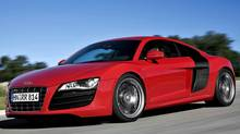 Other than a price change and a minor power upgrade, the 2010 and 2011 editions of the Audi R8 were virtually identical. (Audi)