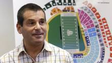 David Samson, Miami Marlins president (Wilfredo Lee/The Associated Press)