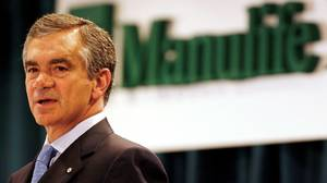 Dominic D'Alessandro: There is something sad about how the decade turned out for the cocky, dimininutive Manulife boss. He was riding high in 2003 in engineering the $11.3-billion takeover of John Hancock, which put Manulife onto the world stage. But by late 2008, Manulife's stock had tanked, the company was scrambling to bolster capital and Mr. D'Alessandro , under fire from shareholders, was forced to give up some of his retirement bonus.