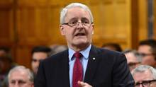 Transport Minister Marc Garneau responds to a question during Question Period in the House of Commons on Parliament Hill in Ottawa, on May 15, 2017. (Sean Kilpatrick/THE CANADIAN PRESS)